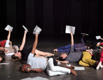 The ensemble in French choreographer Boris Charmatz's