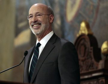 Gov. Tom Wolf at the state Capitol in Harrisburg, Pa., on Tuesday, Feb. 6, 2018. (Chris Knight/AP Photo)