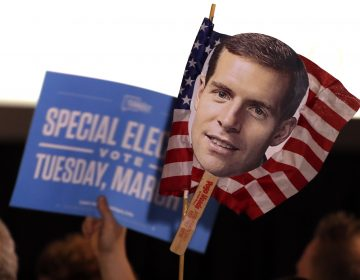 An AP analysis held up Conor Lamb's victory over Republican Rick Saccone in Pennsylvania as an example of strong enthusiasm from Democrats. (AP Photo/Gene J. Puskar)