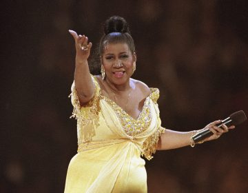 FILE - In this Jan. 19, 1993 file photo, singer Aretha Franklin performs at the inaugural gala for President Bill Clinton in Washington. Franklin died Thursday, Aug. 16, 2018, at her home in Detroit. AP Photo/Amy Sancetta, File)