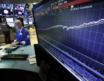 In this Wednesday, Aug. 22, 2018, file photo a chart on a screen on the floor of the New York Stock Exchange shows the rise of the S&P 500 index since 2009. Strong corporate earnings growth and a resilient U.S. economy bolstered by a solid job market and consumer confidence set the stage for the market to continue the upward trajectory it's been on for more than nine years, experts say. (Richard Drew/AP Photo, File)