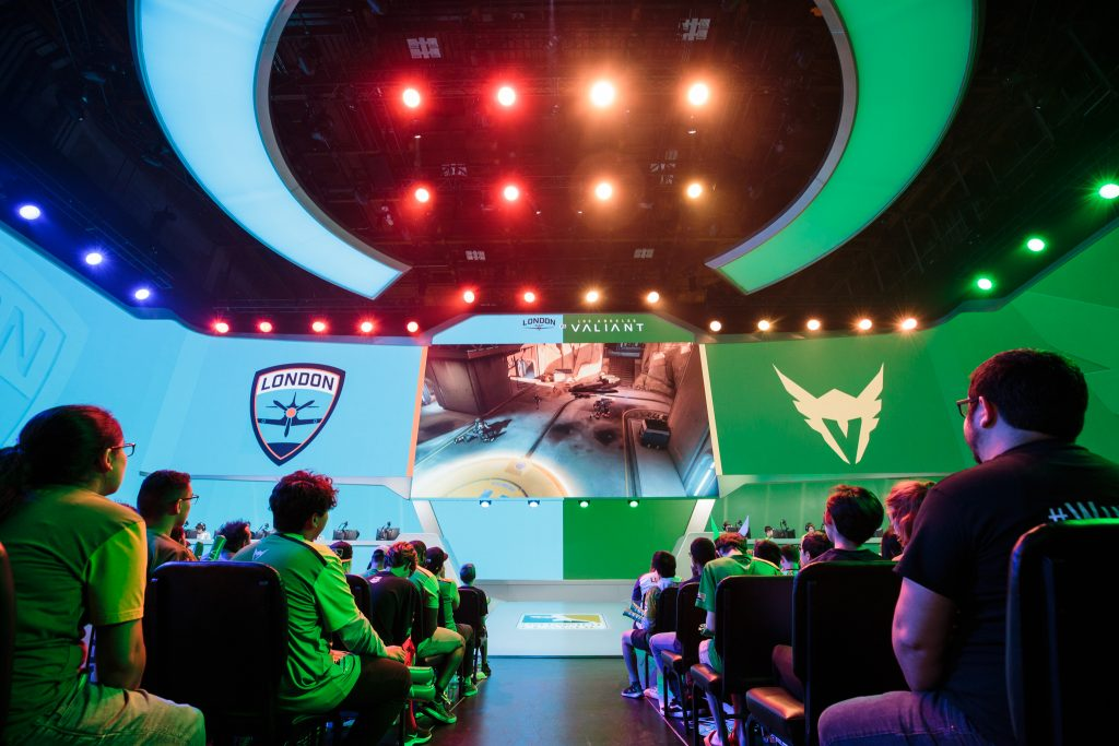E-sports is now a serious business for professional gamers. Credit: Robert Paul for Blizzard Entertainment/Overwatch League