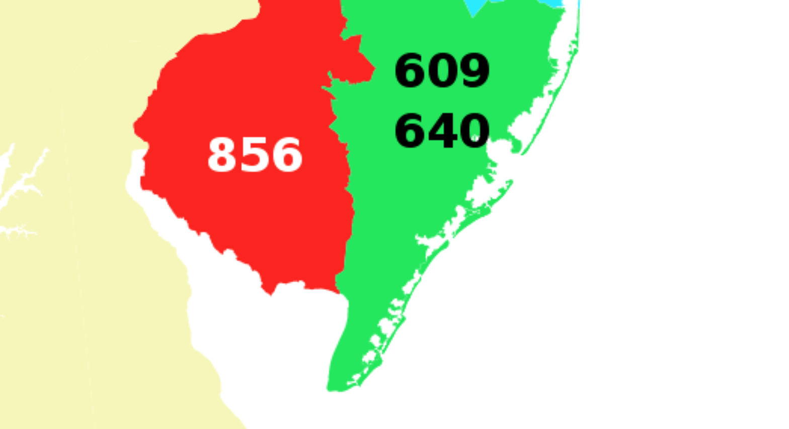 With Area Code No Longer Rules Southern Jersey Shore Down The Community Whyy Png 1568x854