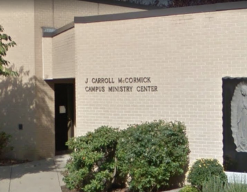 The J. Carroll McCormick Campus Ministry Center at King's College (Google map)