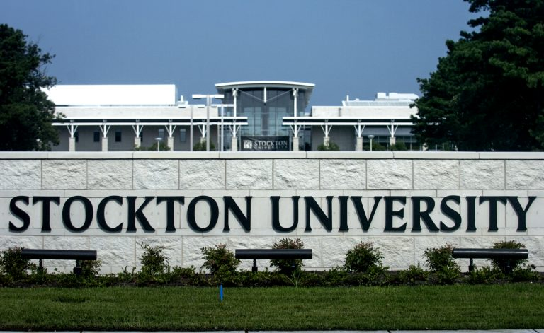 Stockton University,  Galloway Township. campus. (Anthony Smedile for WHYY)