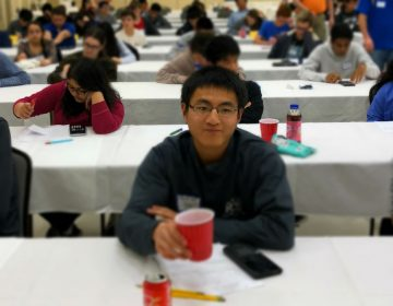 YuQing Xie won a gold medal at the International Physics Olympiad in July. He graduated in June from Charter School of Wilmington and starts this week at Massachusetts Institute of Technology. (Courtesy of Charter School of Wilmington)