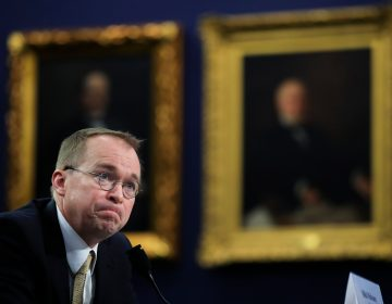 Office of Management and Budget Director Mick Mulvaney testifies before a House Appropriations Committee hearing on Capitol Hill in Washington. Mulvaney took over the CFPB as acting director in late November. (Manuel Balce Ceneta/AP)