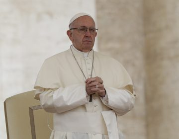 Pope Francis, shown here in May (Andrew Medichini/AP)