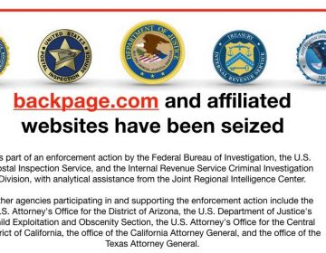 The federal government shut down Backpage.com and indicted seven executives on multiple charges. (screen grab/backpage.com)