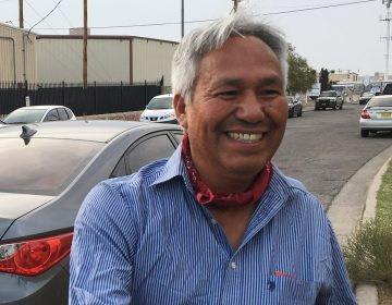 Journalist Emilio Gutiérrez Soto was released from his second detention in El Paso, Texas last week, just hours before a federal judge's deadline for the government to produce documents justifying the detention. (Monica Ortiz Uribe for NPR)