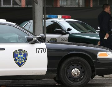 The Oakland Police Department remains under federal oversight 15 years after settling a civil rights case against it. (Justin Sullivan/Getty Images)