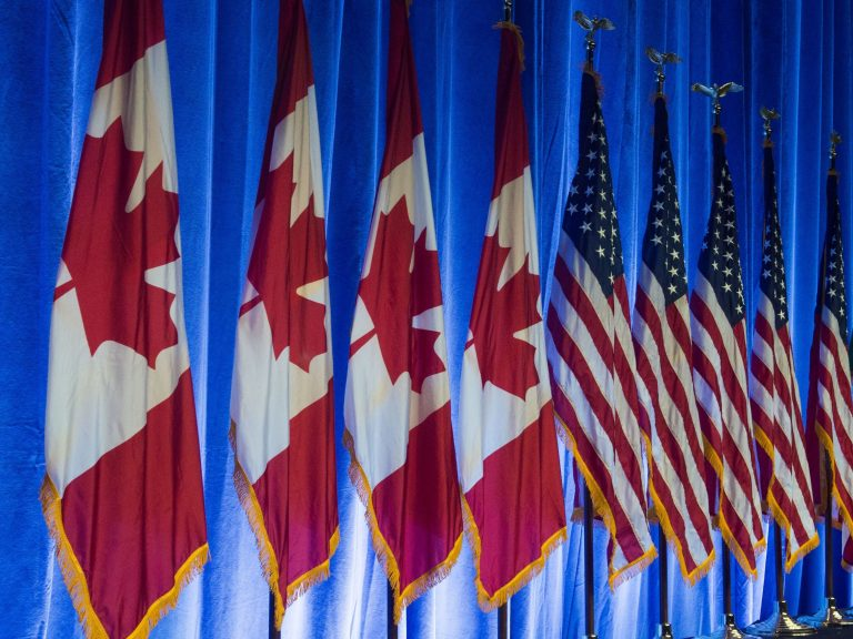The United States, Canada and Mexico have been in lengthy talks over changes to the North American Free Trade Agreement since President Trump threatened to scrap the historic treaty. (Paul J. Richards/AFP/Getty Images)