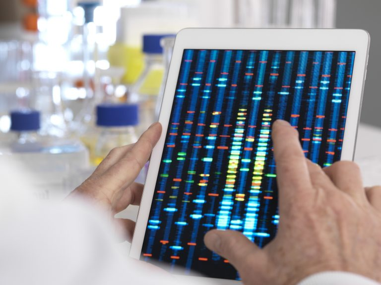 The results of genetic testing --whether done for health reasons or ancestry searches — can be used by insurance underwriters in evaulating an application for life insurance, or a disability or long-term-care policy. (Science Photo Library RF/Getty Images)