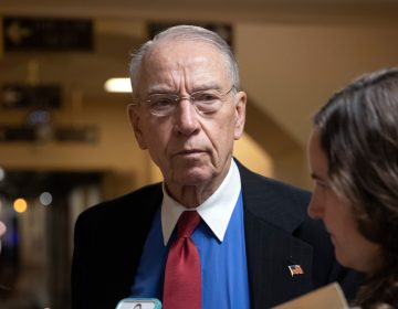 "In this May 24, 2018, file photo, Senate Judiciary Committee Chairman Chuck Grassley, R-Iowa, speaks to reporters on Capitol Hill in Washington. The Republican chairman and top Democrat on the Senate Judiciary Committee want federal investigators to examine charges that immigrants have suffered sexual, physical and emotional abuse at two government agencies' detention centers. Grassley of Iowa and California's Dianne Feinstein have written to the inspectors general of the departments of Homeland Security, and Health and Human Services, that the allegations are ""extremely disturbing and must be addressed. This is not a partisan issue. (AP Photo/J. Scott Applewhite, File)"
