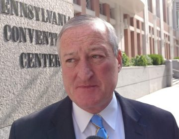 Philadelphia Mayor Jim Kenney says the deal will help the city recover some of more than $50 million it spent on renovations. (Tom MacDonald, WHYY)