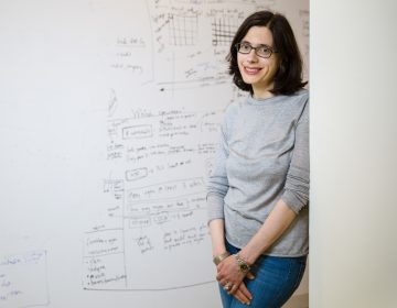 Aviv Regev, a core member of the Broad Institute, is leading the international Human Cell Atlas Consortium. (Casey Atkins/Broad Institute)