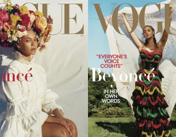 Tyler Mitchell photographed Beyoncé for the September issue of Vogue. (Courtesy of Vogue)