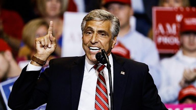 US Senate candidate Lou Barletta is trying to boost his poll numbers before the November midterm elections. (Photo by AP)
