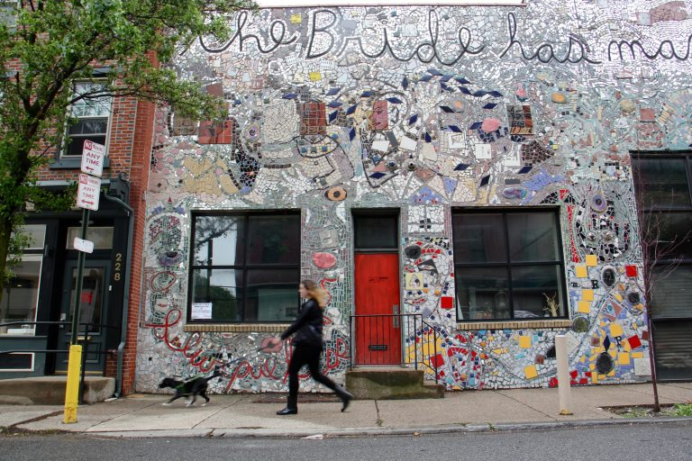 The Painted Bride building was denied historic designation, opening the door to a sale of the iconic Old City building. (Emma Lee/WHYY)