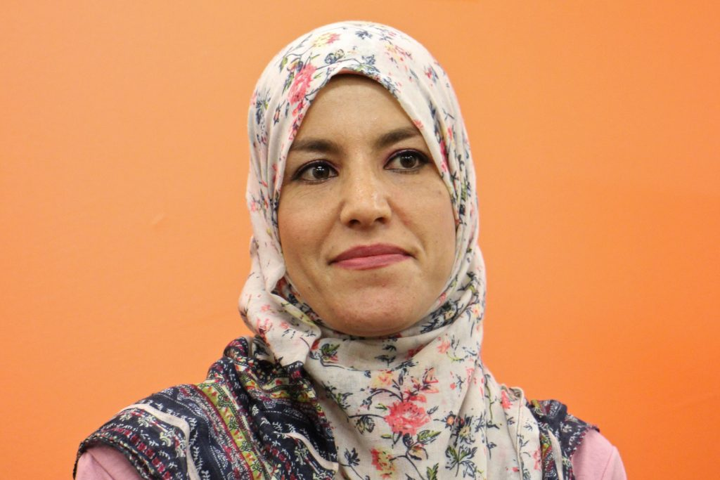 Syrian refugee Bdour Hussein came to the United States with her family in 2016.