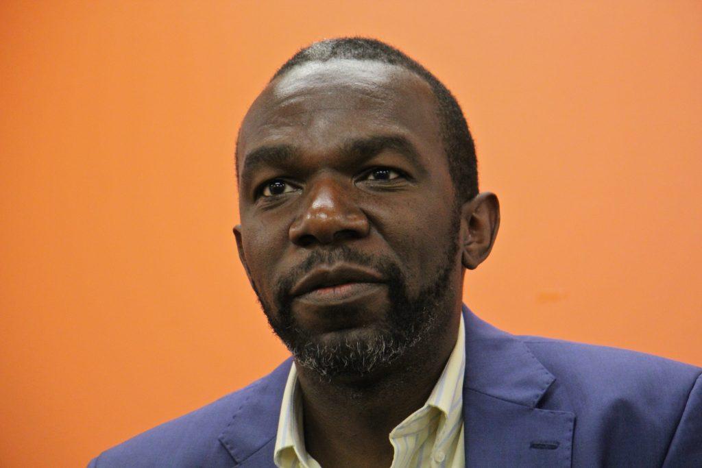 Sozi Tulante, born in Zaire, came to Philadelphia as a political refugee in 1983.
