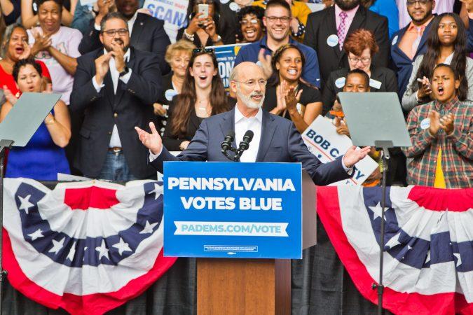 Pennsylvania Gov. Tom Wolf says he's