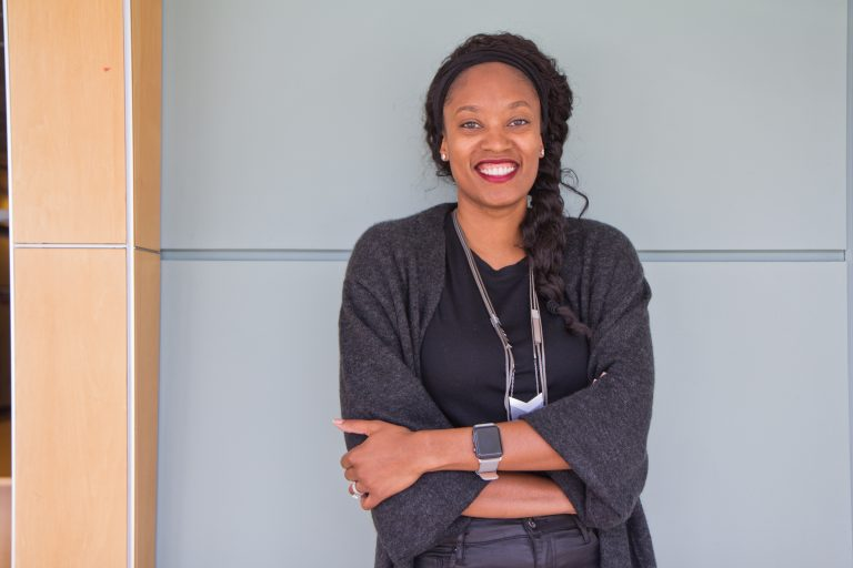 Aniyia Williams is founder and CEO of TINSEL. (Kimberly Paynter/WHYY)