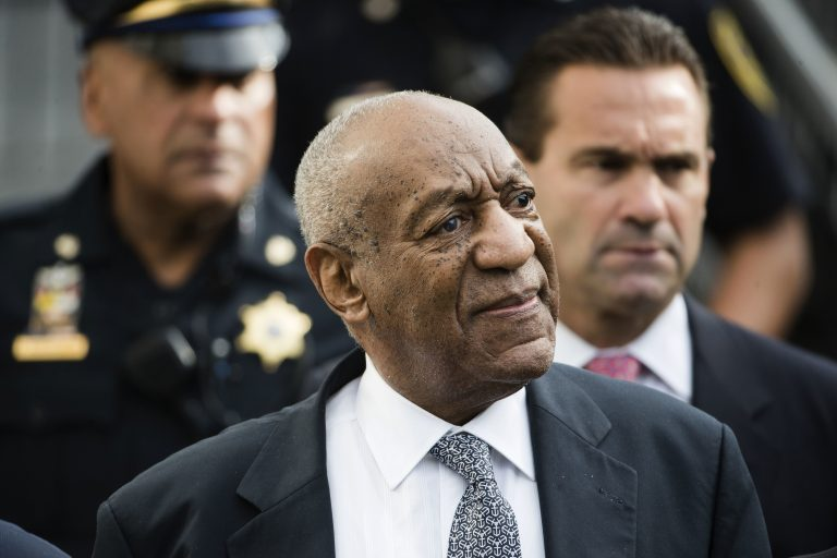 Bill Cosby walks from the Montgomery County Courthouse during his sexual assault trial in Norristown, Pa., Thursday, June 8, 2017. (Matt Rourke/AP Photo)