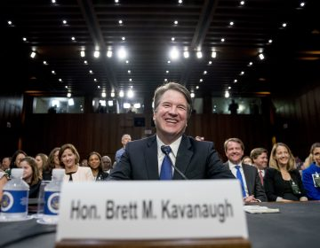 Supreme Court nominee Brett Kavanaugh, a federal appeals court judge, appears before the Senate Judiciary Committee on Capitol Hill in Washington, Tuesday, Sept. 4, 2018, to begin his confirmation to replace retired Justice Anthony Kennedy. (AP Photo/Andrew Harnik)