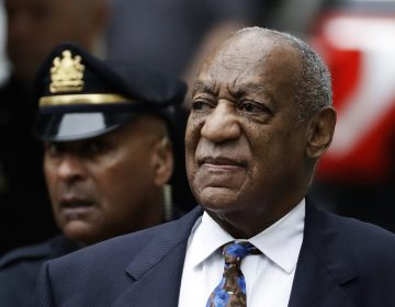 Bill Cosby arrives for his sentencing hearing
