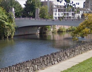 A kayaker died Tuesday in Brandywine Creek near the North Market Street Bridge, just outside downtown Wilmington. (Google Maps)