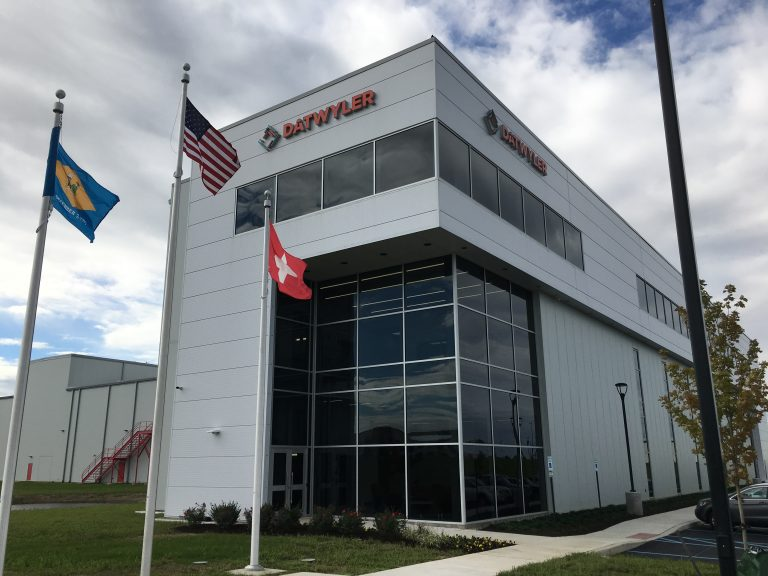 Swiss-based Datwyler's new facility in Middletown, Delaware is the company's first facility in the U.S. to feature its