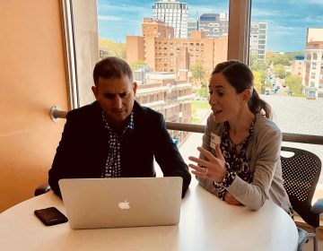 Drexel University professors Michael Yudell and Chloe Silverman have decided to study engagement between autism researchers and the autism community to see how that impacts scientific research. (Provided)