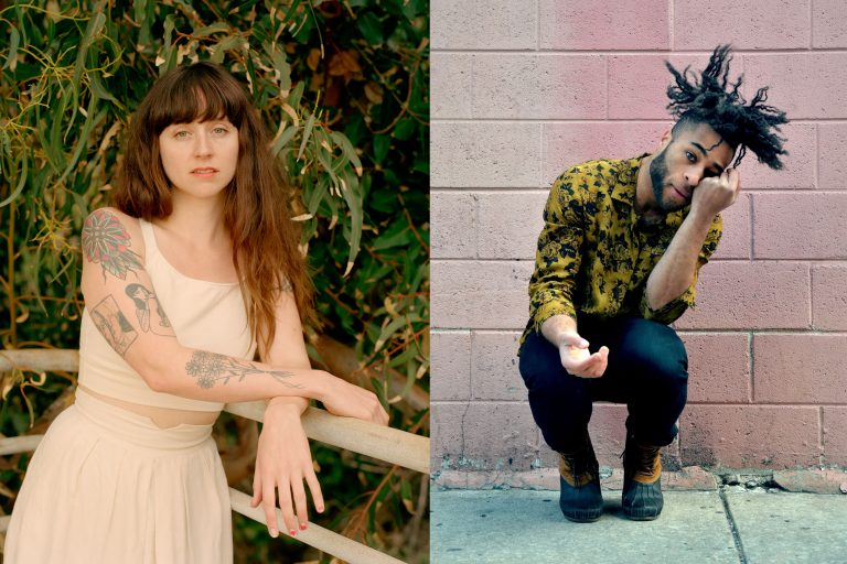 Local musical acts Waxahatchee and Kingsley Ibeneche will perform at this weekend's Philly Music Fest (Molly Matalon / provided)
