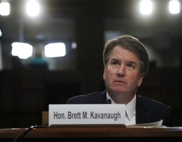 Supreme Court nominee Judge Brett Kavanaugh testifies before the Senate Judiciary Committee on Sept. 6, 2018. (Alex Wong/Getty Images)