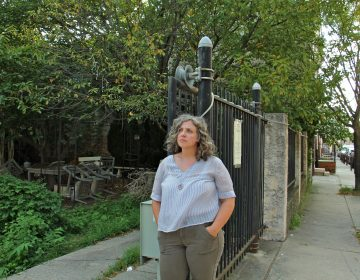 Julia Tackett says the developer of 706-724 Latona St. and nearby residents quickly came to an impasse over the best way to develop the lots. (Emma Lee/WHYY)