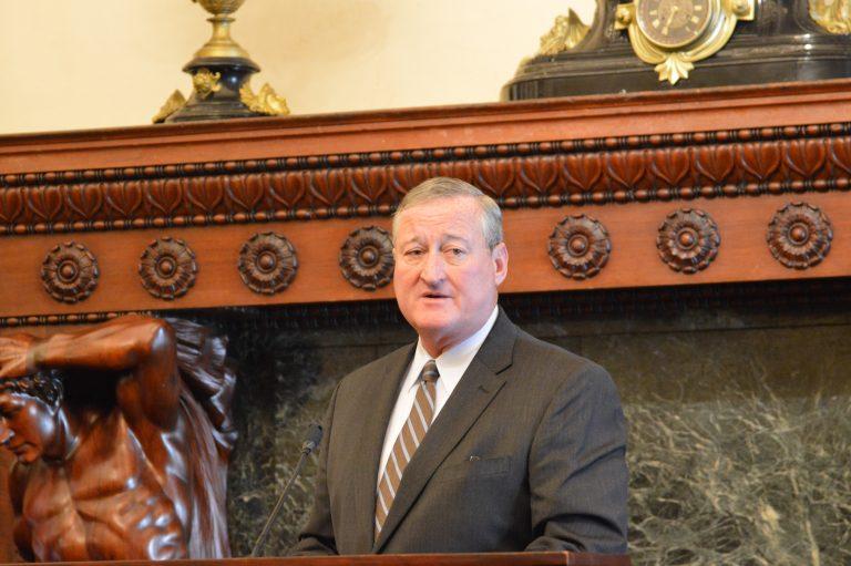 Mayor Jim Kenney (Tom MacDonald/WHYY)