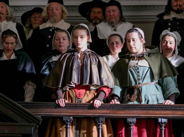 """""""The Miniaturist"""" MASTERPIECE on PBS  Sundays, September 9 - 23, 2018 at 9pm ET  Shown: Anya Taylor-Joy as Nella  (C) The Forge/Laurence Cendrowicz for BBC and MASTERPIECE"""