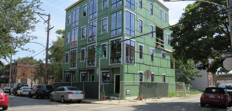 The cost of residential construction is high in Philadelphia, the fourth most expensive building market in the U.S. (Ashley Hahn/Eyes On The Street)
