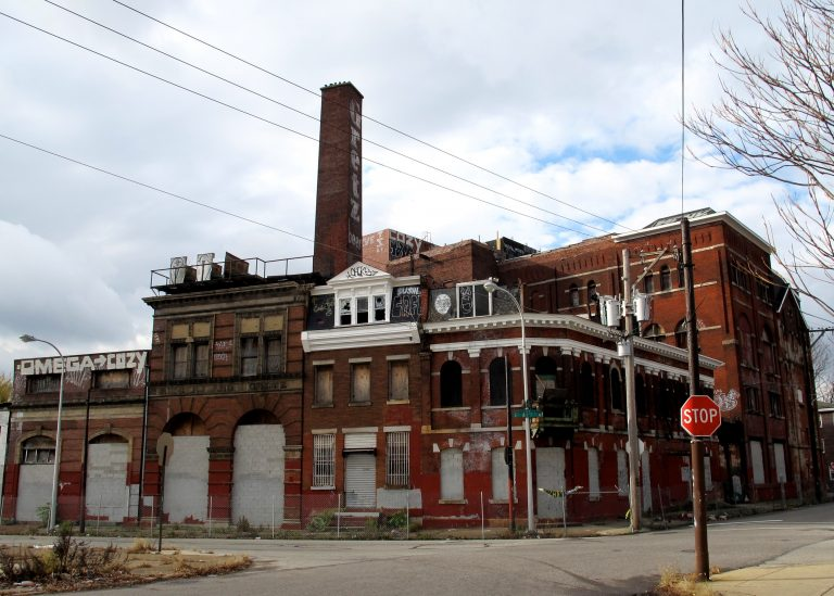 The Gretz Brewery complex in Kensington has been vacant since 1961. (Ashley Hahn/PlanPhilly)