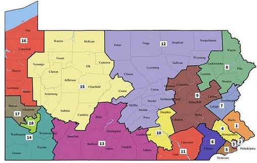 The state Supreme Court redrew Pennsylvania's congressional map this year. Legislators are having a hard time agreeing on how to reform the reapportionment process going forward.