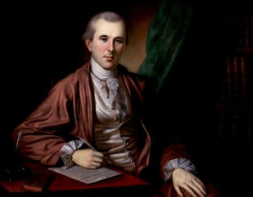 Benjamin Rush, the medical doctor and Founding Father, took after the Renaissance-man civic participation of his mentor, Benjamin Franklin. (Charles Willson Peale/Courtesy of Crown)