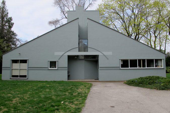 Vanna Venturi House (Ashley Hahn/PlanPhilly)