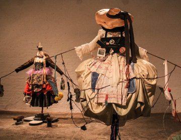 Suzanne Bocanegra's elaborate ballet costumes are part of her exhibit