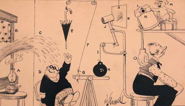 National Museum of Jewish History looks at the life of Rube Goldberg. (Courtesy of the National Museum of American Jewish History)