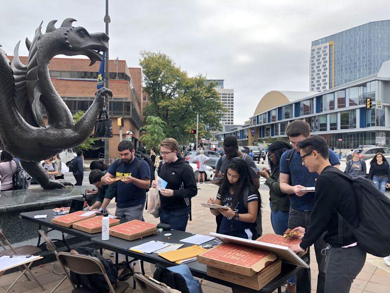 NextGen Pennsylvania holds a voter registration drive on the Drexel Campus. (NextGen Pennsylvania)