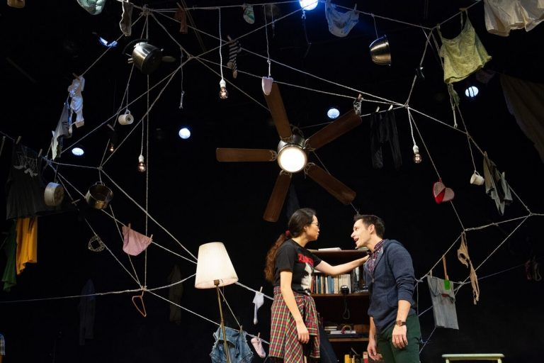 Claris Park and Jamison Foreman in the Inis Nua Theatre Company's production of