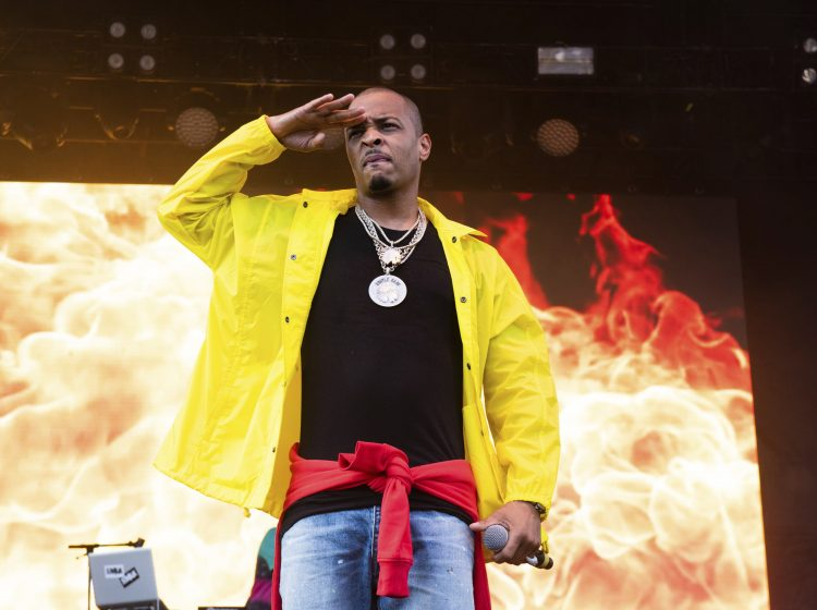 T.I. performs on stage at ONE Musicfest on Sunday, Sept. 9, 2018, in Atlanta. (Photo by Paul R. Giunta/Invision/AP)