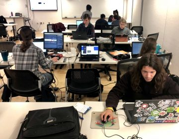 Over the weekend, the Anti-Defamation League invited Philadelphia area game developers to their second annual ADL National Game Jam. (Darryl Murphy for WHYY)