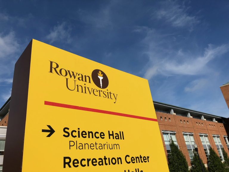 Rowan University students will be able to air their feelings Friday at a town hall meeting on policing, four days after local cops drew their guns on two students in a videotaped incident that went viral. (Joe Hernandez/WHYY)